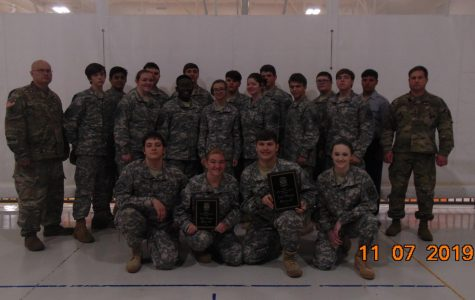 JROTC Rifle Team Competition