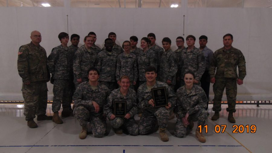JROTC Rifle Team Competition