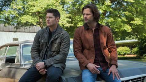 "Supernatural -- ""Lost and Found  -- Image Number: SN1301a_0112r.jpg -- Pictured (L-R): Jensen Ackles as Dean and Jared Padalecki as Sam -- Photo: Dean Buscher/The CW -- ©2017 The CW Network, LLC All Rights Reserved."