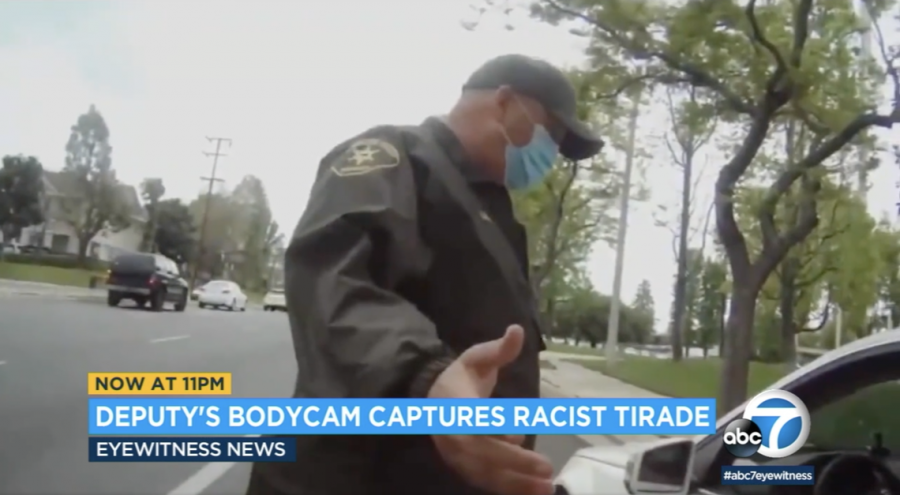 Racist Attack Against a LA County Deputy.
