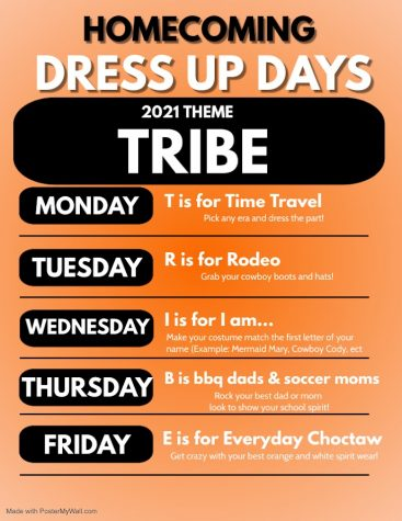 Homecoming Dress Up Days!